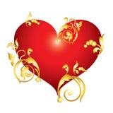 Red Heart. Stock Photos