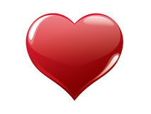 Red heart #2 Royalty Free Stock Photography