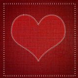 Red heart . Stock Images