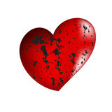 Red heart. Vector illustration of beautifull red heart Stock Photography