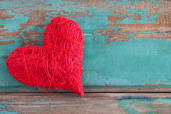 Red heart Royalty Free Stock Photography