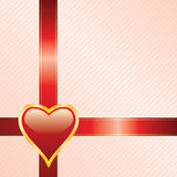 Red heart background Stock Photos