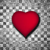 Red Heart Background Royalty Free Stock Photography