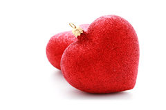 Red heart ball Royalty Free Stock Photography