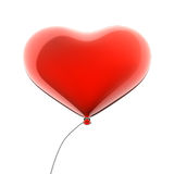 Red heart balloon Royalty Free Stock Photo
