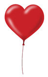 Red Heart Balloon Stock Images