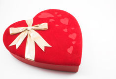 Red Heart Box Stock Photography