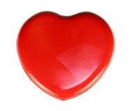 Red heart box Stock Photo