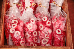 Red heart candies Royalty Free Stock Photo