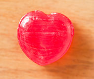 Red heart candy Royalty Free Stock Photo