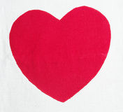 Red heart Royalty Free Stock Photo