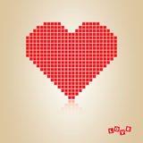 Red heart, concept Stock Photo