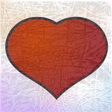 Red heart. eps10 Royalty Free Stock Photography