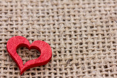 A red heart Royalty Free Stock Photos