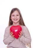 Red heart Royalty Free Stock Image