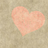 Red heart on a grunge background. Valentine's day symbol Royalty Free Stock Photos