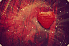 Abstract heart background. An abstract background with a heart shape Royalty Free Stock Image