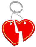 Red heart icon Royalty Free Stock Images