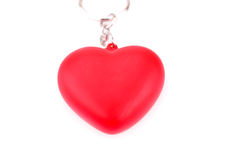 Red heart. Isolated on white background Royalty Free Stock Image