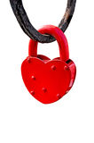 Red heart lock Stock Photos