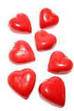 Red heart lockets Royalty Free Stock Photography