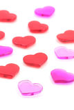Red heart, love concept Royalty Free Stock Images