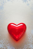 Red heart for love or health Royalty Free Stock Photo
