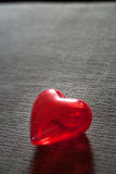 Red heart for love or health Stock Photos