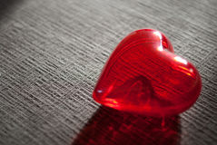Red heart for love or health Stock Photography