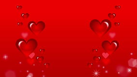 Red Heart Moving Image stock video