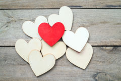 Red heart Stock Photography