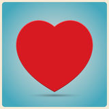 Red Heart  Poster Stock Photography