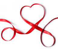 Free Red Heart Ribbon Stock Images - 28519914