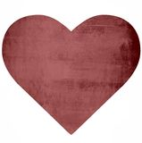Red Heart on Ruined Wall Royalty Free Stock Photos