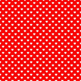 Red heart seamless pattern background. Heart shape on a red background... seamless pattern... Can be used for present wrapping or design integration Royalty Free Stock Photo