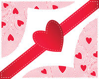 Red Heart seamless Stock Photos