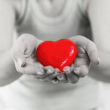 Red Heart Shape Health Love Support Royalty Free Stock Photos