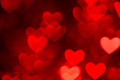 Red heart shape holiday background Royalty Free Stock Image