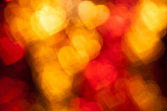 Red heart shape holiday background Stock Photo