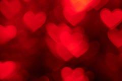 Red heart shape holiday photo background Royalty Free Stock Photo