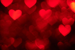 Red heart shape holiday photo background Royalty Free Stock Photos
