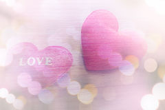 Red heart shaped. Royalty Free Stock Photography