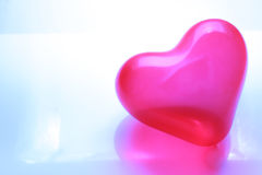 Red heart shaped balloon Royalty Free Stock Image