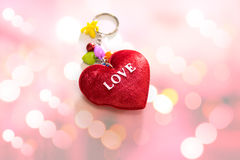 Red Heart Shaped Stock Photo