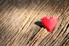 Red heart shaped valentines day Royalty Free Stock Image
