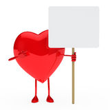 Red heart show Stock Photography