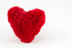 Red heart soft Stock Image