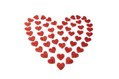 Red heart for St Valentine day Stock Photo