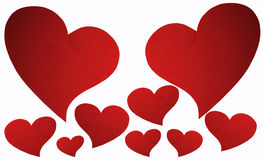Red Heart Symbol. Stock Images