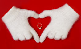 Red heart symbol Royalty Free Stock Image